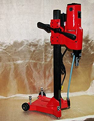 """10"""" Z1RB Concrete Core Drill by BLUEROCK ® Tools - 2 Speed with Rolling Base"""