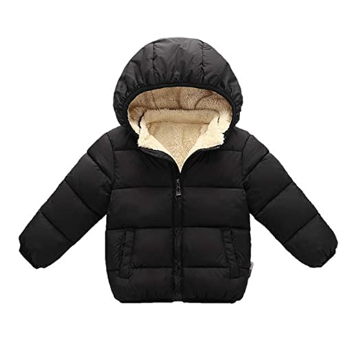 e07f367f6 Toddler Baby Hooded Down Jacket Boys Girls Kids Thicken Warm Winter Coat  Outerwear 1-7t
