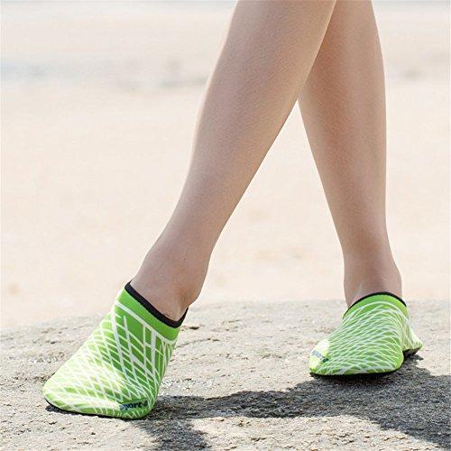 la de Nadada Calcetines de Aqua de Resaca acuático la Descalzo para la de Saguaro Yoga Skin Playa Shoes wqg8S8v0