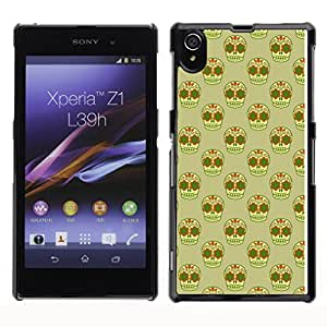 ZECASE Funda Carcasa Tapa Case Cover Para Sony Xperia Z1 L39H No.0002188