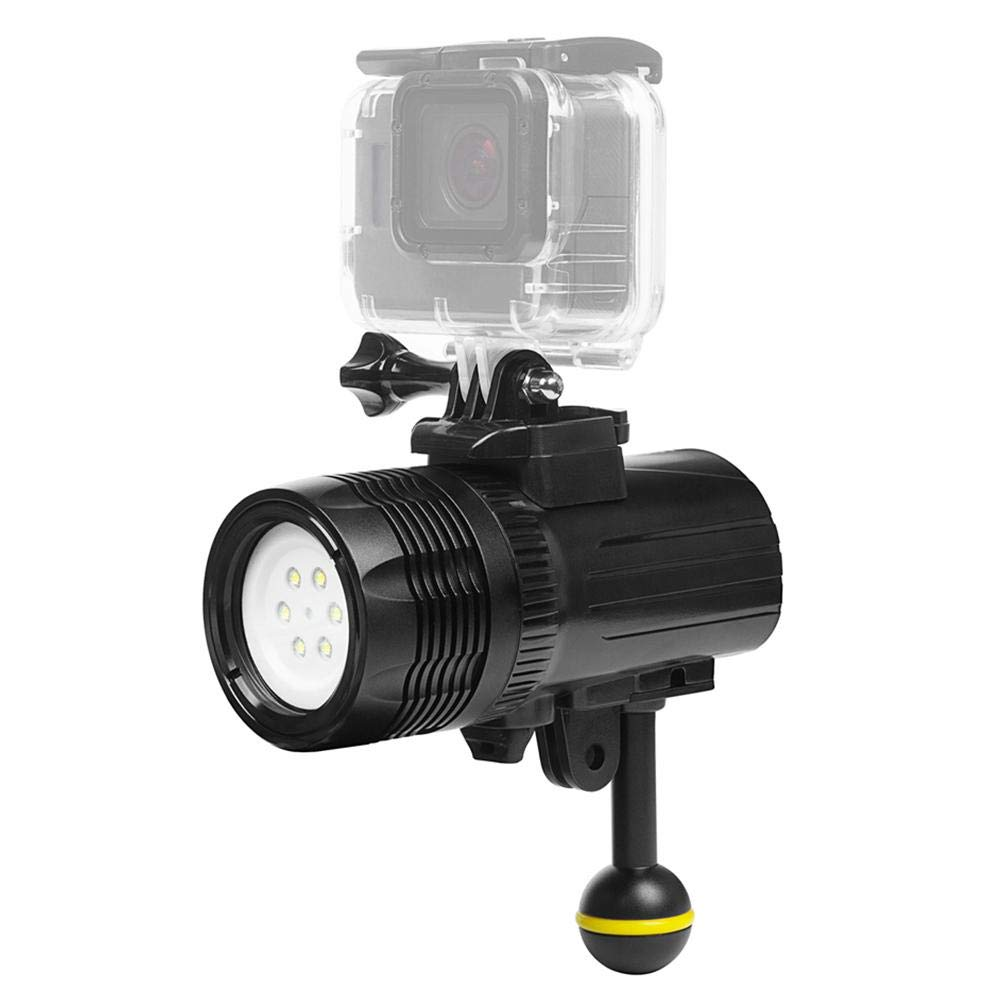 SHOOT Diving Fill Light Photography Light Highlight Diving Flashlight Outdoor Searchlight for GOPRO Accessories