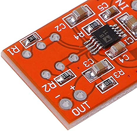 Appearancees SSM2167 Microphone Preamplifier Board Low Noise COMP Compression Module DC 3V-5V