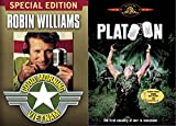 Vietnam War Comedy/ Drama Collection - Good Morning Vietnam & Platoon 2-DVD Bundle