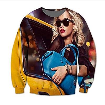 I Love T-Shirt Nicki Minaj Printed Sweatshirt Casual Hoodies Long Sleeve Stresswear Doggfather Print Unisex