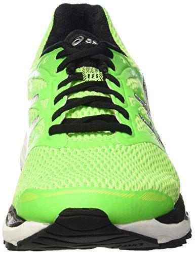 Hombre Asics De green Verde 18 cumulus White Para Gel Zapatillas Running r0w4fax0q