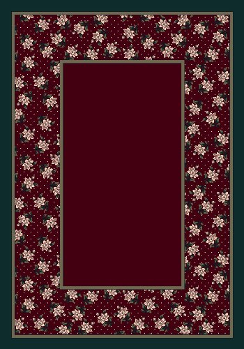 Design Center Rambling Rose Garnett Rug Rug Size: Runner 2'4