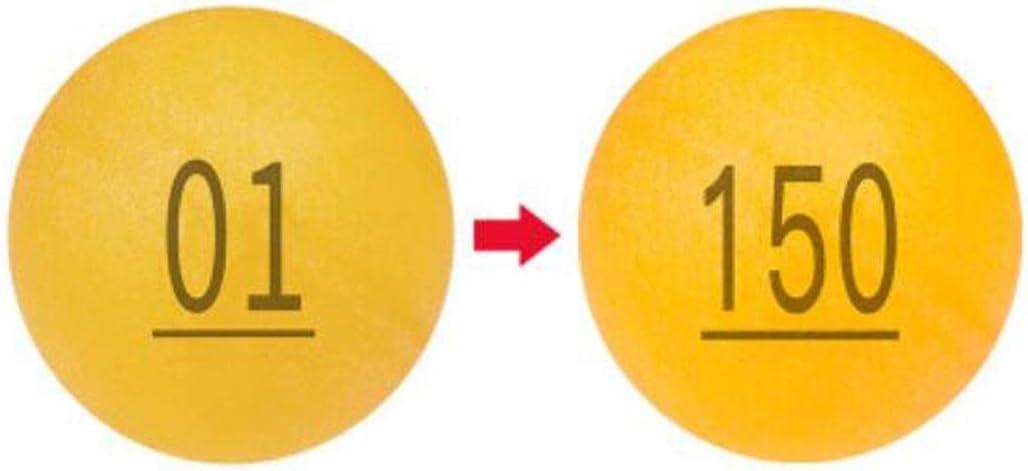 KPPTO Bola de lotería Bola 01-200 Bola de lotería Toque Premio Bola Sacudida Bola Bola Transparente Tenis de Mesa Bola Digital Beautiful Life