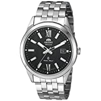 Orient Men's 'Sentry' Japanese Automatic Stainless Steel Casual Watch, Color:Silver-Toned (Model: SER2G002B0)