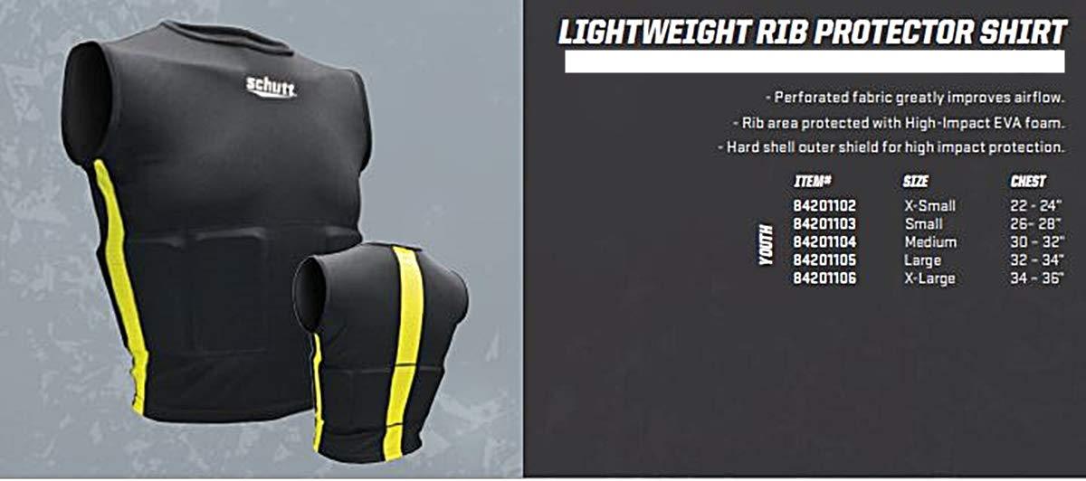 Schutt Sports Lightweight Youth Football Rib Protector Shirt