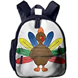 High Quality Ergonomic Super Padded With Strong Adjustable Back Straps.color Turkey Clipart Stylish Design With Large Main Compartment And Front Pockets.Multipurpose Daypack Use Not Only For School, But For Travel, Outdoors, Summer Camp And M...