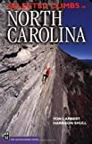 Selected Climbs in North Carolina by Yon Lambert front cover