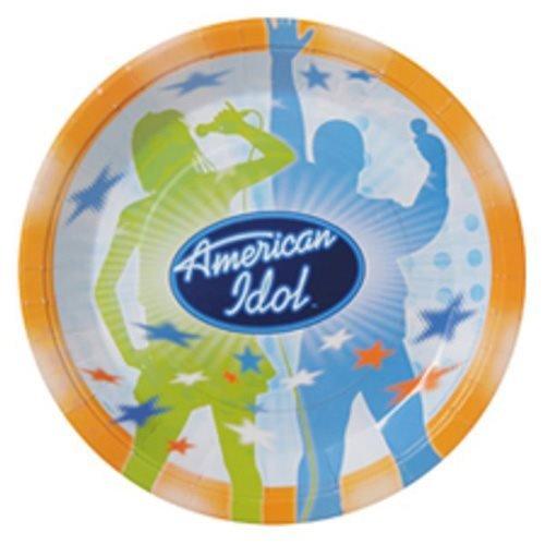 American Idol Large Paper Plates (8ct)