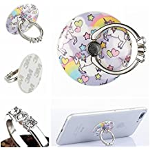 Cell Phone Ring Stand,New Design Fashion Diamond Finger Ring Mount Phone Holder for iPhone Galaxy S5 S5 S7 S8 LG 6 LG6 Ipads and Other Smartphone and Tablet-Horse