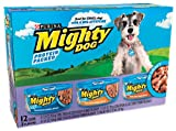 Mighty Dog Prime Cuts Variety Pack (Chicken, Turkey, Beef), 5.5-Ounce Tins (Pack of 24), My Pet Supplies