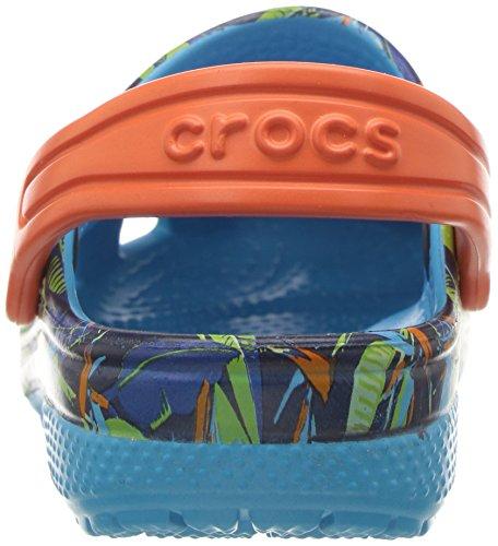 Crocs – Clsctropicclgk Multicolore Bambini Unisex tropical Zoccoli 7qp4Urn7