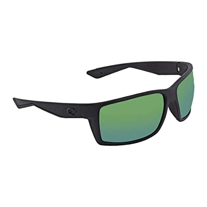 070f0daee6281 Amazon.com   Costa Del Mar Reefton Sunglasses Blackout Green Mirror ...