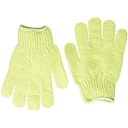 Bath Accessories Bathing Gloves, Celery