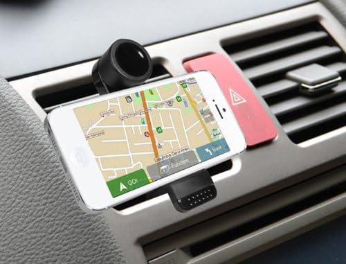 Quick media - Soporte universal de rejilla de ventilación coche ...