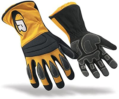 Ringers Gloves R-313 Extrication Gloves, Cut-Resistant Gloves with Impact Protection