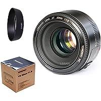 YONGNUO YN50mm f1.8 YN EF 50mm f/1.8 AF Lens YN50 Aperture Auto Focus+EW-60C for Canon EOS DSLR Cameras