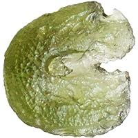 100% autentico verde Moldavite Rough gemma, dimensioni 15x 15x 7mm, gioielli, Tektite meteorite, materie prime, Repubblica Ceca, ag-11343
