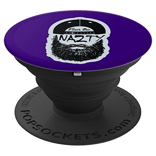 (Fear the Chuck Nazty Baseball Beard - PopSockets Grip and Stand for Phones and Tablets)
