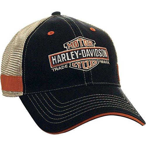Harley-Davidson Men's Ballcap - Long Bar & Shield | Overseas Tour