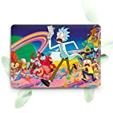 ZVStore Protective Shell Cover Sleeve Durable Plastic Slim Hard Pro Case for MacBook (Air 13 (A1369 & A1466), Rick and Morty)