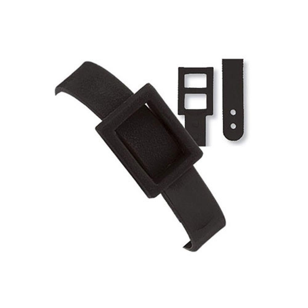 デュアルPostブラックプラスチック荷物ストラップ B00APGRA84