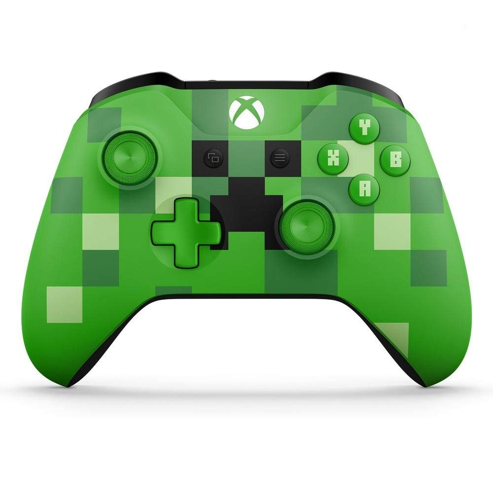 Xbox Wireless Controller/ PC Computer - Minecraft Creeper Green Special Limited Edition