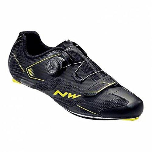 Northwave Sonic 2Plus Black Yellow, negro negro