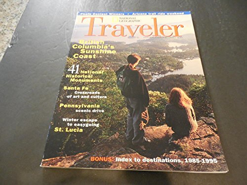 National Geographic Traveler Mar-Apr 1996, Steamboat Ohio River,Swiss Bliss
