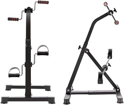 Bicicleta estacionaria de ejercitador de pedal para brazo y pierna ...