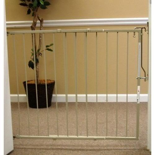 Duragate Pet Gate - Cardinal Gates The Duragate Pet Barrier Brown
