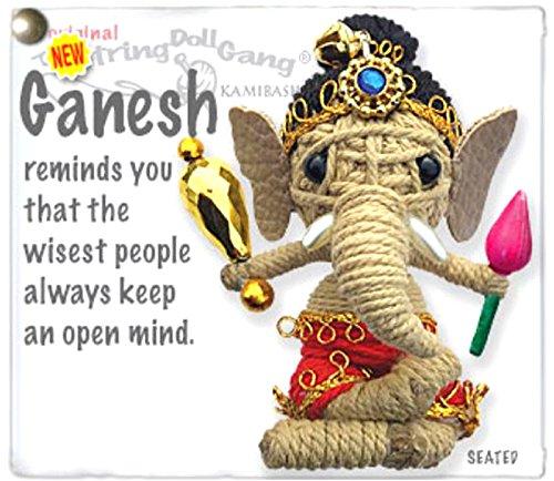 Kamibashi Ganesh Ganapati Vinayaka The Original String Doll Gang Keychain (String Doll Gang)