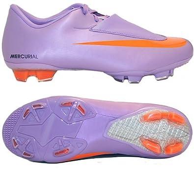6876d2f8b Amazon.com | Nike Mercurial Vapor VI FG Junior (Violet/Orange) | Soccer