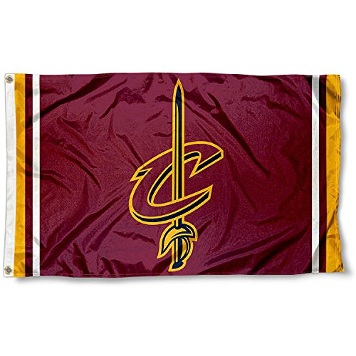 Cleveland Cavaliers Logos (Cleveland Cavaliers C-Sword Logo Flag and Banner)