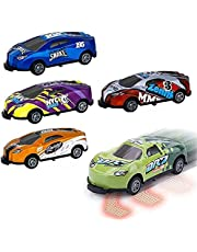 Pull Back Catapult Car - Stunt Toy Car Alloy, Jumping Stunt Cars Creativity Mini Car Models for Children Kids Boys