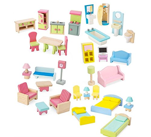 Dollhouse Furniture (set of 35) by HearthSong®