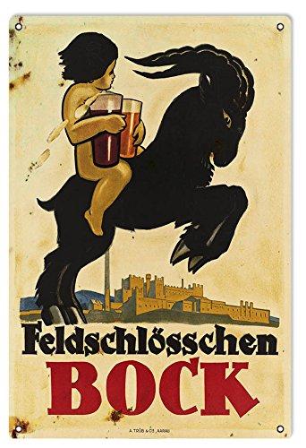 reproduction-feldschlosschen-bock-beer-sign