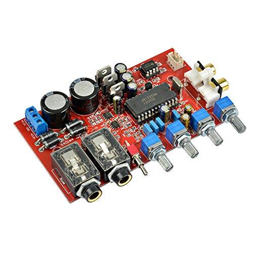AOSHIKE M65831AP + NE5532 preamp Board with Karaoke Fuction