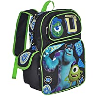 "Disney Monsters University 16 ""mochila escolar grande"