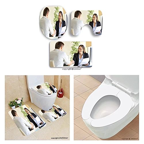 Gzhihine custom toilet seat three-piecesuccessful job interview with boss and employ