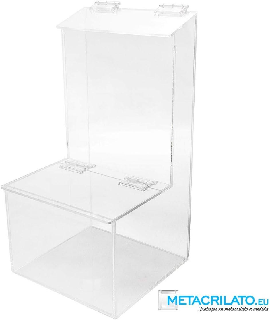 METACRILATO. EU Caramelera Omega Mod L. 25 x 20 x 40 cm: Amazon.es: Oficina y papelería