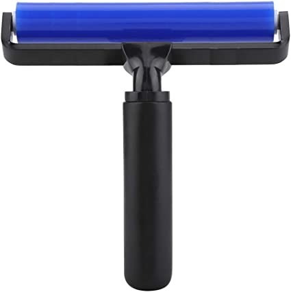 """6/"""" Silicone Sticky Roller Anti-static Dust Clearning Remover Manual Cleaner Tool"""