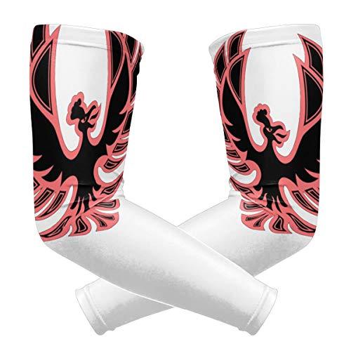 FKAHQ '99 Johto Firebird POP! Unisex Uv Sun Protection Arm Sleeves Sun Protection Arm for Youth 1 Pair Sun Protection Arm