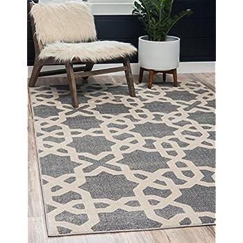 Amazon Com Unique Loom Trellis Collection Geometric