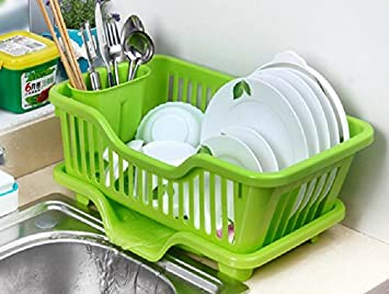AmazoncomKitchen Racks Thick Plastic Storage Rack Dripping
