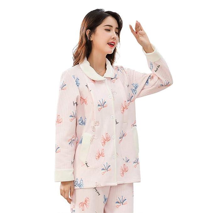 HONGNA Mujeres Embarazadas Pijamas Después del Parto Pijamas De ...