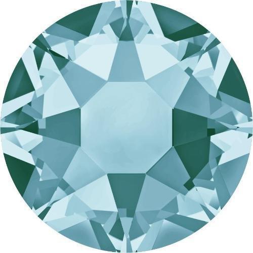 2000, 2038 & 2078 Swarovski Flatback Crystals Hotfix Light Turquoise | SS10 (2.8mm) - Pack of 1440 (Wholesale) | Small & Wholesale Packs